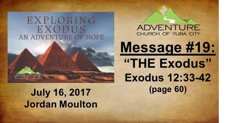 19-THE Exodus